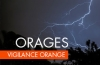 Vigilance orange orages